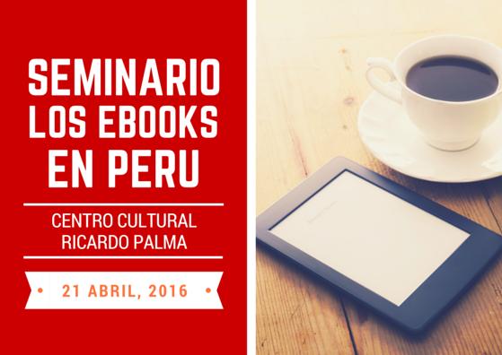 Seminario Ebooks en Per�