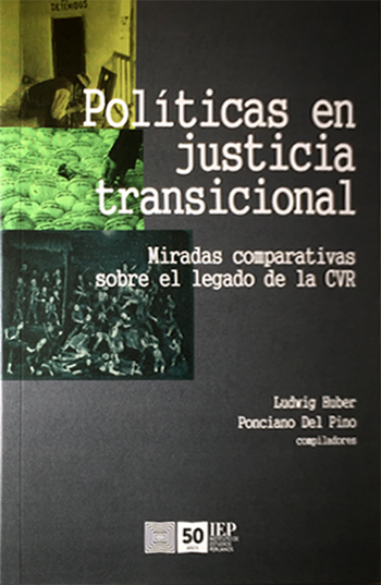 POL�TICAS EN JUSTICIA TRANSICIONAL