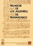 RELACIÓN DE LOS AGUSTINOS DE HUAMACHUCO