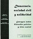 Democracia, sociedad civil y solidaridad
