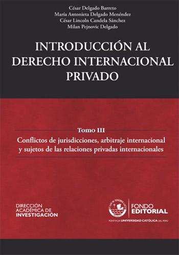 INTRODUCCI�N AL DERECHO INTERNACIONAL PRIVADO