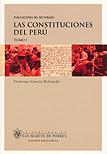 Las constituciones del Perú (2 tomos)