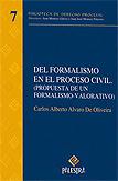 Del formalismo en el proceso civil