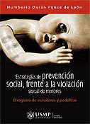 Estrategias de prevención social, frente a la violación sexual de menores